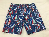 "NWT Men's Vineyard Vines Spin Island 9"" Breaker Boats Shorts Moonshine Size 31"