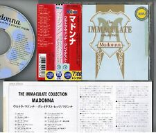 MADONNA The Immaculate Collection JAPAN CD WPCR-22033 w/OBI 2003 reissue Rental