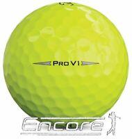 10 Titleist Pro V1 Golf Balls Yellow 2019/20 Model PEARL / A Grade ⭐⭐⭐⭐⭐