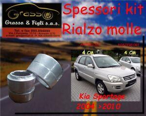Spessori Molle Rialzo SPACER SPRING KIA SPORTAGE 2005>2010 4 CM Avanti Dietro