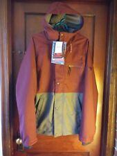 NWT Medium Bonfire snowboarding Tanner Jacket & Banks Pants 15k waterproofing