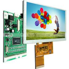 "5"" 5 inch 800x480 TFT LCD Display,Optional Touch Panel w/VGA,AV Video Board"