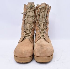 Desert Jump Military Army Suede Tactical Work Boots Men's Sz 8 VIBRAM Soles