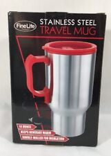 Stainless Steel Travel Mug with Car Charger