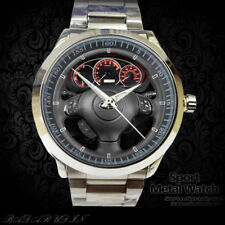 2015 Sbr Wrx Sti Steering Wheel Sport Metal Watch With The Best Service Screen & Specialty Printing New Rare !! Other Specialty Printing