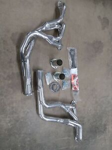 Dougs headers ceramic coated gm g body small block chevy d370y