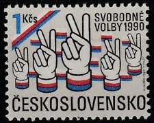 Tjechoslowakije postfris 1990 MNH 3050 - Vrije Verkiezingen