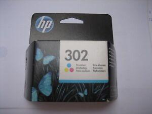 HP ORIGINAL F6U65AE COLOR   Nr.302  for Deskjet 1110 21303630 Officejet3830 4650