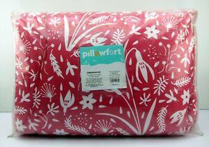 NEW Pillowfort Black & Grey 2 Piece Comforter Sham Twin Size Bedding Set Blanket
