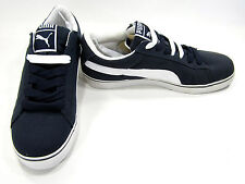 Puma Boat Shoes S Vulcan CVS Navy Blue/White Topsiders Size 8.5 EUR 41