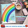 Slimming World Food Diary/Log/Book/Journal/Planner/Meal Plan/NEW 2021 RAINBOW🌈