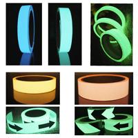 Luminous Glow In The Dark Fluorescent Night Self-adhesive Safety Sticker Tape