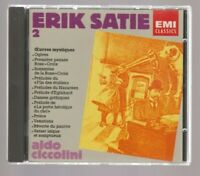 ERIK SATIE, EMI Classics # 2, Ciccolini, CD, EMI 1987, Zustand 1-2