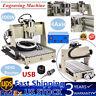 USB 4 AXIS 3040 CNC ROUTER ENGRAVER ENGRAVING MACHINE WOOD CUTTING DESKTOP 400W