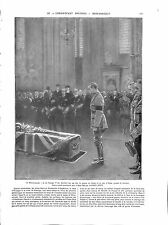 WWI London Westminster George V Tommy The Unknown Warrior Londres ILLUSTRATION