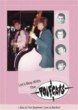 POLECATS - Let's Bop With the Polecats DVD - Boz Boorer - Rockabilly - NEW