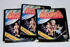 Americana 1978 Battlestar Galactica 3 X Sac en Papier Paquet Bustina Rare ! Rare