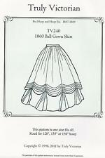 Schnittmuster Truly Victorian TV 240: 1860 Ball Gown Skirt