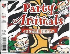 PARTY ANIMALS - Jungle Bellz CDM 3TR Happy Hardcore 1995 (F. De Wulf) RARE!!!