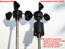 Maximum Instruments NRG #400 (#40) 3-cup Anemometer, highest reliability build