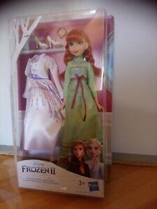 Poupée Anna avec 2 tenues reine des neiges Disney Frozen ll Hasbro neuf