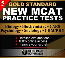 5 GS New MCAT Online Practice Tests: MCAT Exam Preparation (2017 review)