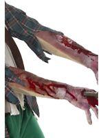 Látex Adulto Manga con Cicatriz Disfraz Halloween Accesorio Nuevo