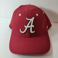 NCAA Zephyr Alabama Crimson Tide Red Fitted Cap/Hat Bama Football College M/L