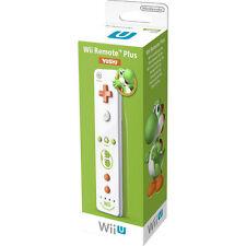 Genuine Nintendo Wii U Remote Plus Yoshi Remote - In Retail Packaging