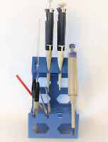 Universal Pipette Pipettor Rack Stand Holder 4 Positions Tube Pen Tool Lab Bench