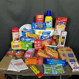Gift Box College / Freshman/ College Care Package / Military / 40 items