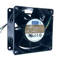 AVC DYTB0838B2U 10000RPM 12v 2.1A 8038 4-pin PWM powerful axial cooling fan