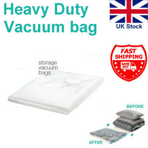 Pack of 6 Vacuum Storage Bags Space Saver Vacum Vac Bags 3x(60x80cm)+3x(50x70cm)