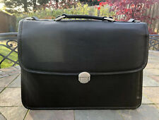 McKlein USA Black Briefcase Messenger Laptop Bag