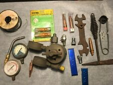 Lot Of 19 Weld Burn Items Concoa Turbo Torch Wypo Victor Airco Sentinel