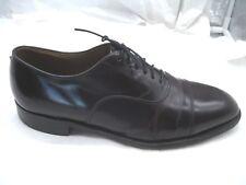 Johnston & Murphy Optima burgundy maroon oxfords Mens dress shoes 11D B 49726