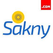 Sakny.com - 5 Letter Short Domain Name - Brandable Catchy Domain .COM Dynadot