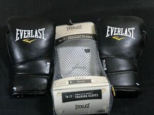 Everlast Womens Elite Protex2 Training Gloves Black 12-Oz 3112WLXL