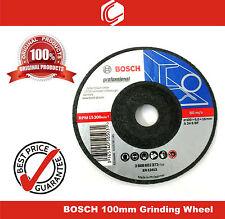 "Bosch 100mm (4"") Metal Grinding Wheel - Pack of 2nos"