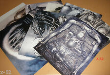 ALIEN HR GIGER 8 concept art cards (pack in from ridley scott movie release) toy