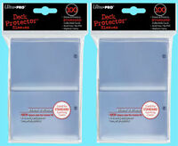 200 Ultra Pro CLEAR DECK PROTECTOR Standard Size Card Sleeves mtg ccg pokemon