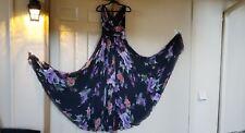 Dolce & Gabbana floral silk dress and scarf EU 38 USA 4