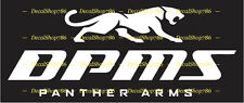 DPMS Panther Arms - Hunting/Outdoor Sports - Vinyl Die-Cut Peel N' Stick Decals
