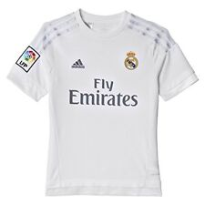 Maillot Adidas Jr Real Madrid Domicile 2016 White-clear Grey 164