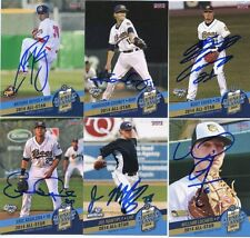 Kody Eaves signed 2014 Midwest League All Star MWL Rookie card auto