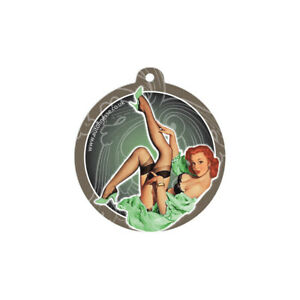 Auto Finesse Aroma Cotton Green Paper Pin Up Girl Hanging Air Freshener