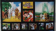 THE WONDERFUL WIZARD OF OZ  ~ fabric panel witch dorothy emerald city monkey