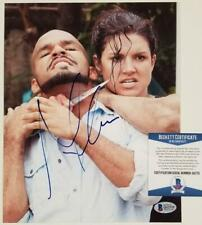 Gina Carano signed 8x10 Photo UFC Fighter Actress Autograph ~ Beckett BAS COA