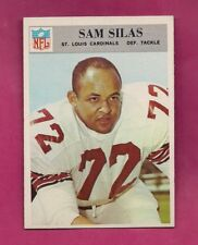 1966 PHILADELPHIA  GUM  # 166 CARDS SAM SILAS  NRMT ROOKIE  (INV# A7615)