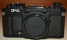 Canon New F-1 film camera